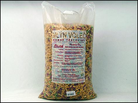 Mlýn Voleč Těstoviny krmné komplet MIX 9kg