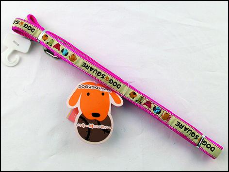 Dog square Vodítko nylonové DogSquareRibbon 15*120cm