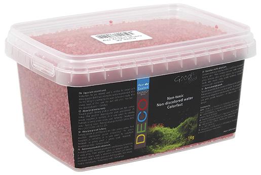 Písek Aqua Excellent svítivě růžový 1kg