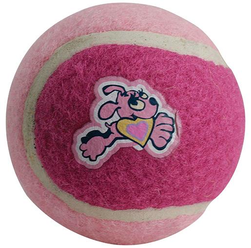 Hračka ROGZ tenisák Molecules růžový 5cm