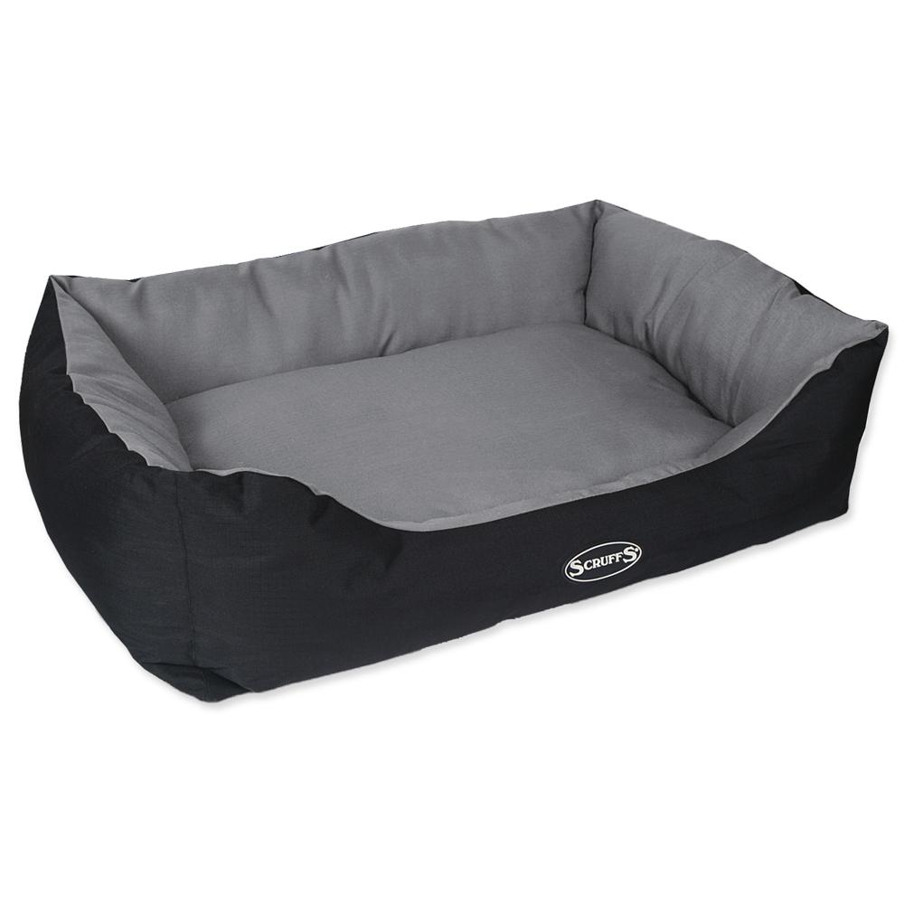 Pelíšek SCRUFFS Expedition Box Bed šedý 90cm