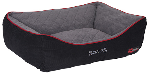 Pelíšek SCRUFFS Thermal Box Bed černý 90cm