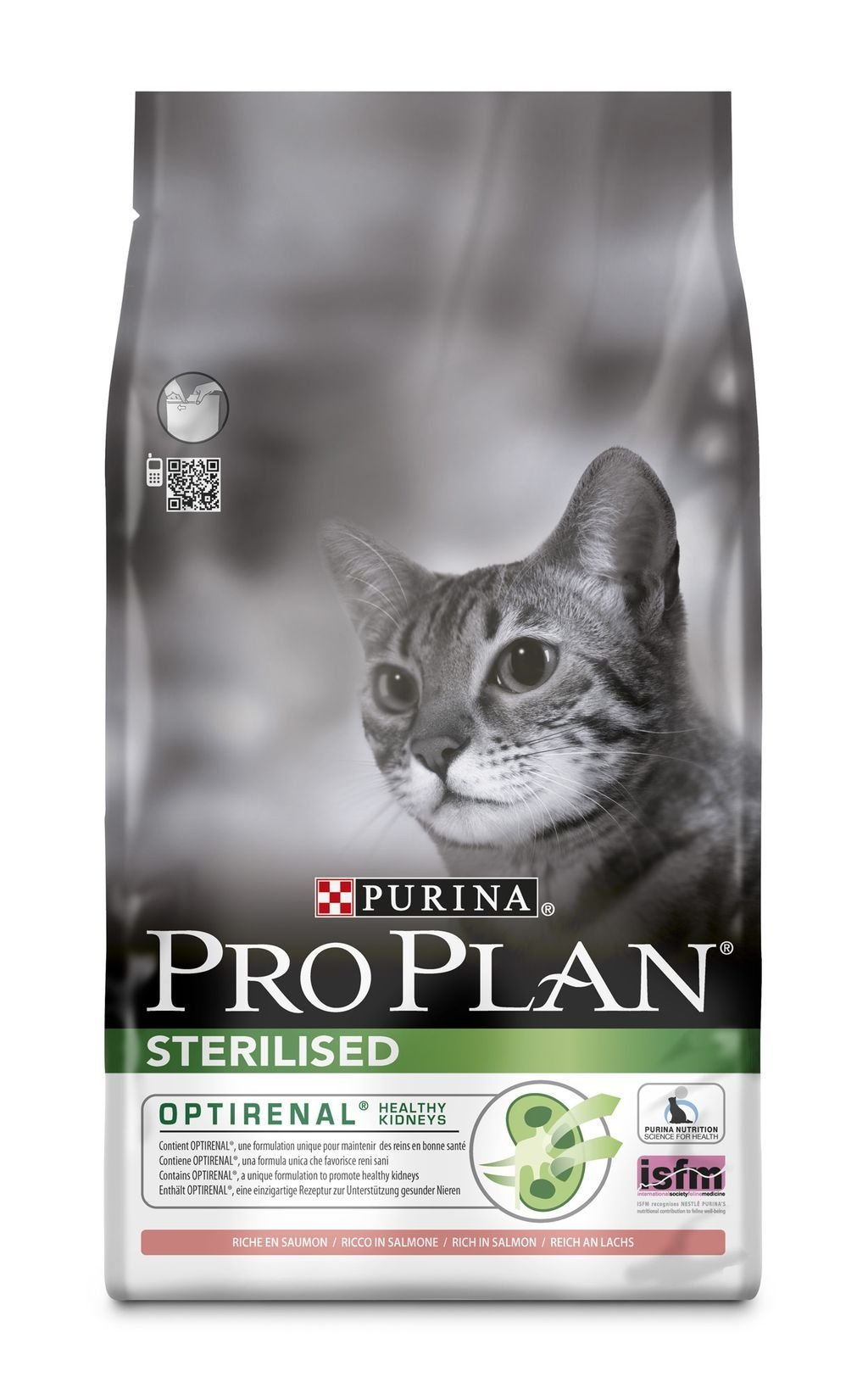 Purina PRO PLAN CAT STERILISED losos 3kg
