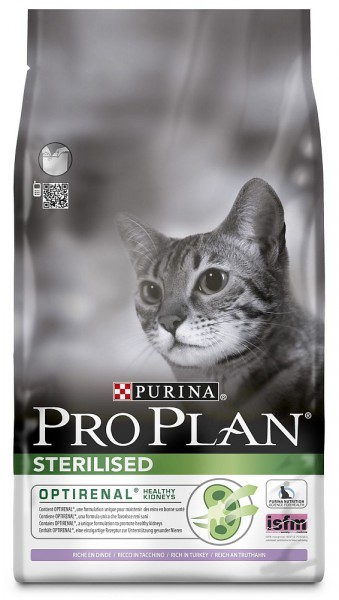 Purina PRO PLAN CAT STERILISED krůta 1.5kg