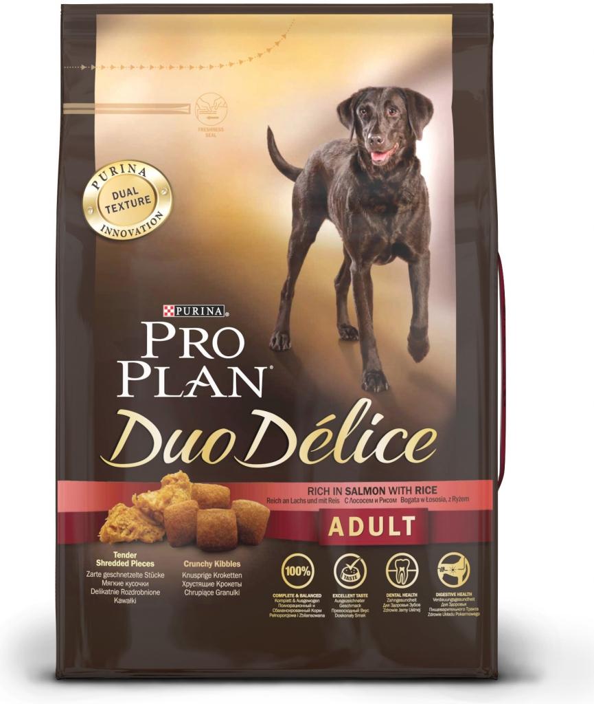 PRO PLAN DUO DÉLICE ADULT losos 2.5kg