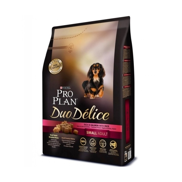 PRO PLAN DUO DÉLICE Small & Mini Adult losos 2.5kg