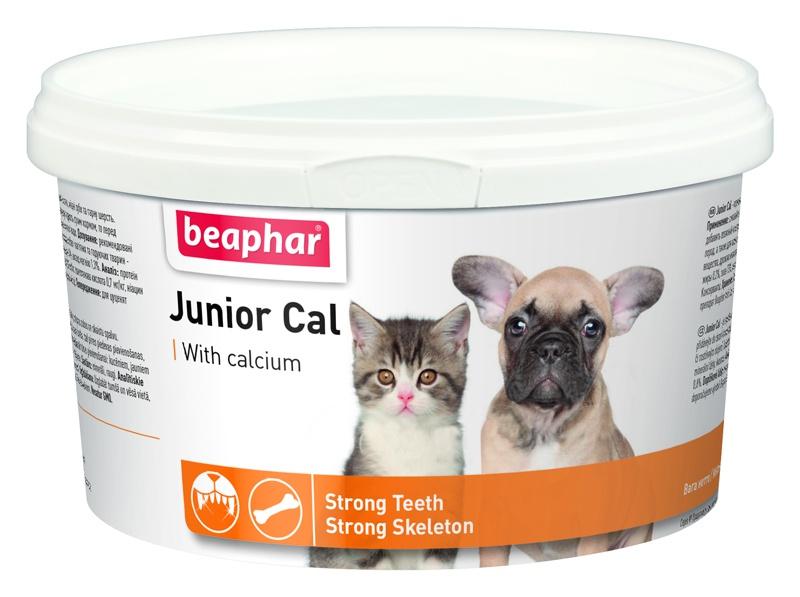 Doplněk stravy Beaphar Junior Cal 200g