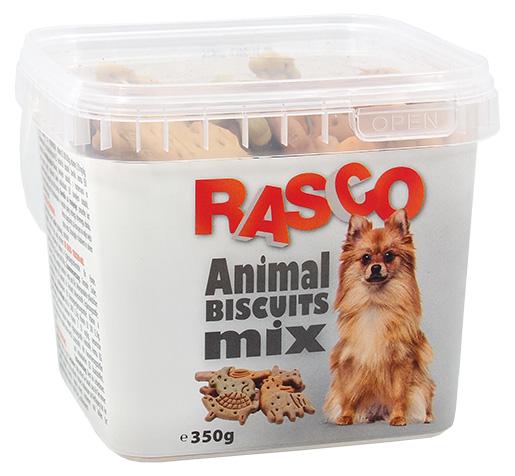 Sušenky Rasco zvířátka mix 5cm 350g