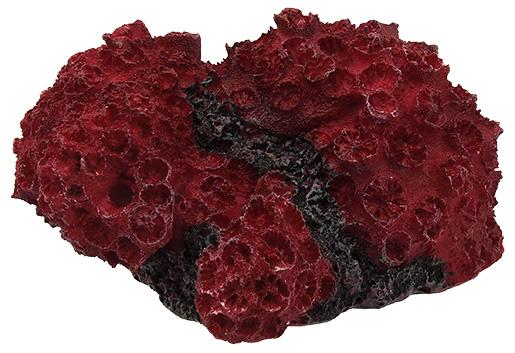 Aqua Excellent Dekorace akv. Mořský Korál červený 11x9,6x5,3cm