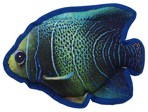 Hračka Dog Fantasy Textile Ryba modrá 23cm