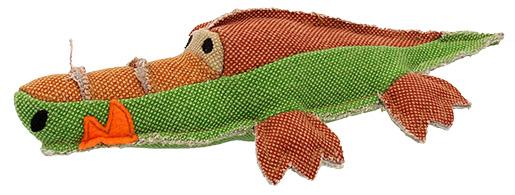 Hračka Dog Fantasy Textile Krokodýl