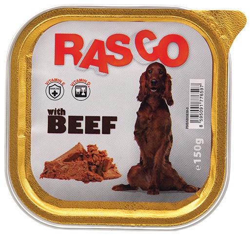 Paštika RASCO s hovězím 150g