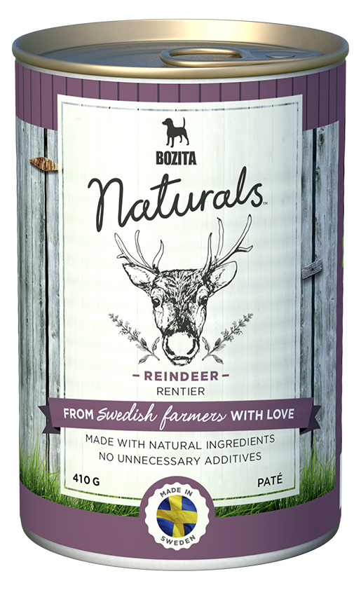 Bozita Naturals konz. Reindeer 410g