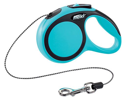 Vodítko Flexi New Comfort lanko XS 3m modré