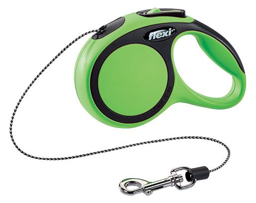 Vodítko Flexi New Comfort lanko XS 3m zelené