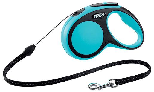Vodítko Flexi New Comfort lanko S 5m modré