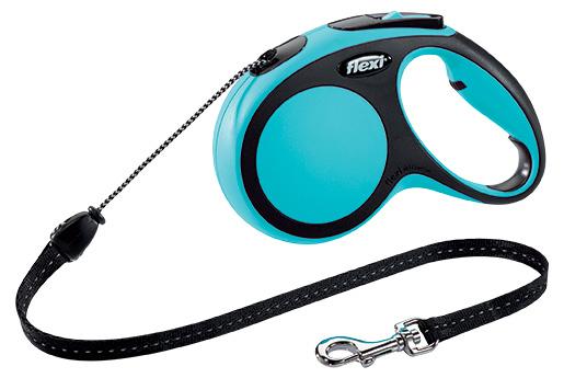 Vodítko Flexi New Comfort lanko M 5m modré