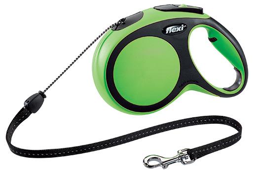 Vodítko Flexi New Comfort lanko M 8m zelené