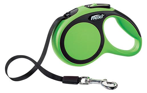 Vodítko Flexi New Comfort páska XS 3m zelený