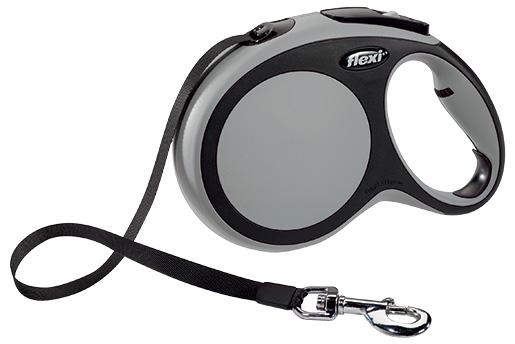 Vodítko Flexi New Comfort páska L 8m šedé