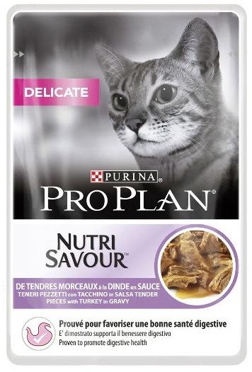 Purina PRO PLAN CAT DELICATE Krůta kapsička 85g