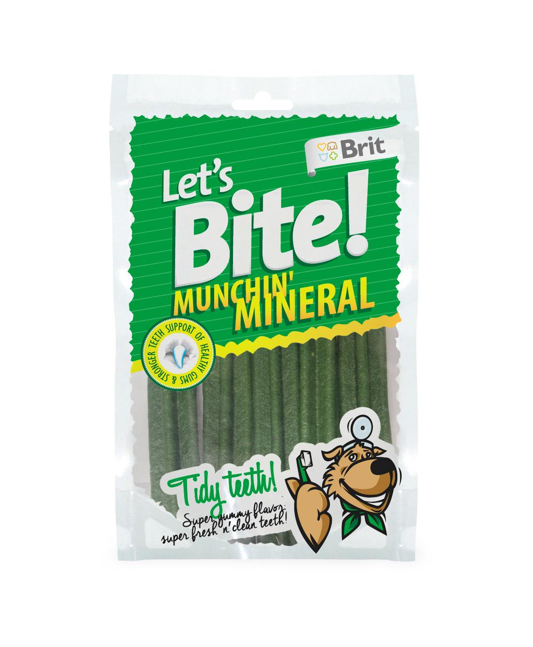 Brit Lets Bite Munchin' Mineral 105g