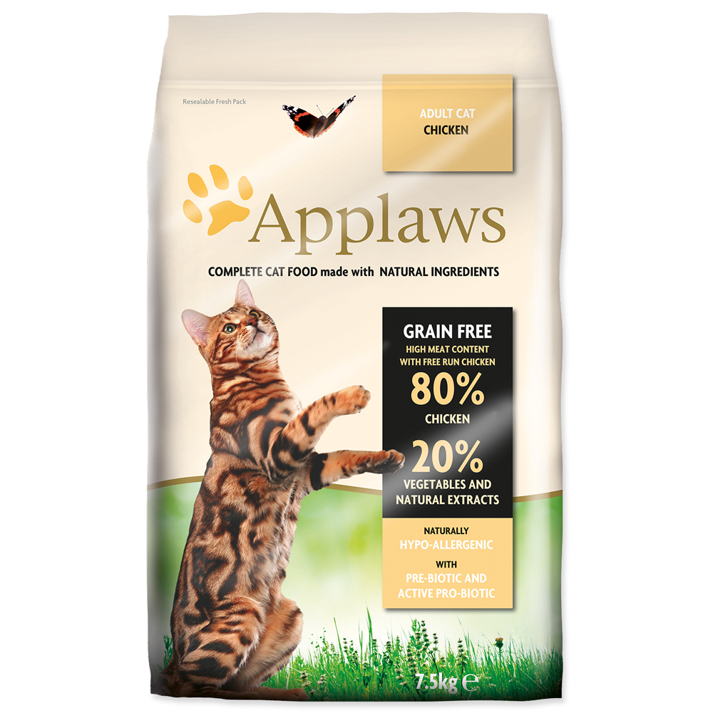 Krmivo Applaws Dry Cat kuře 7.5kg