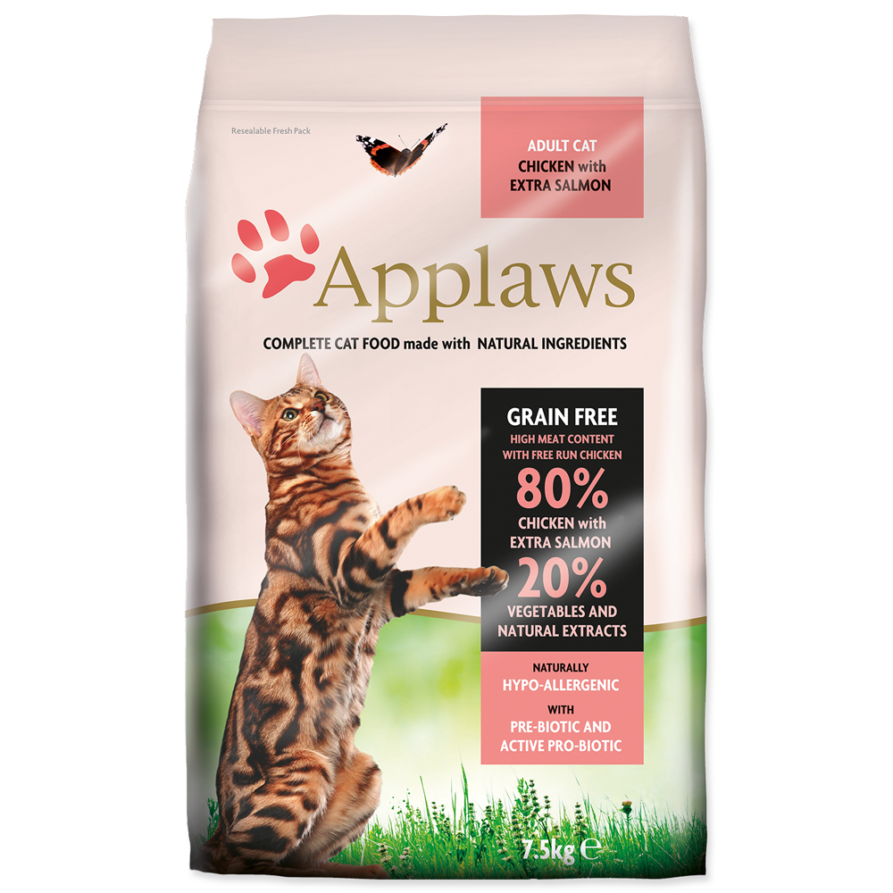 Krmivo Applaws Dry Cat kuře & losos 7.5kg