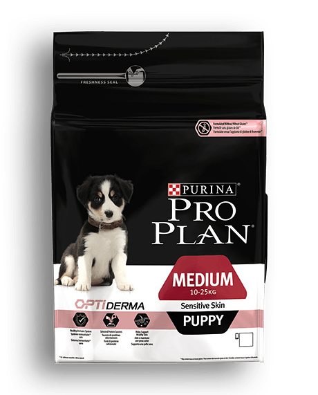 Purina PRO PLAN MEDIUM PUPPY Sensitive Skin 1.5kg