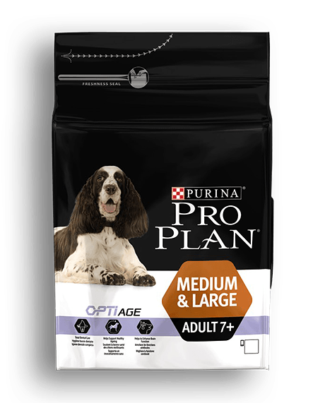 PRO PLAN MEDIUM & LARGE ADULT 7+ 14kg