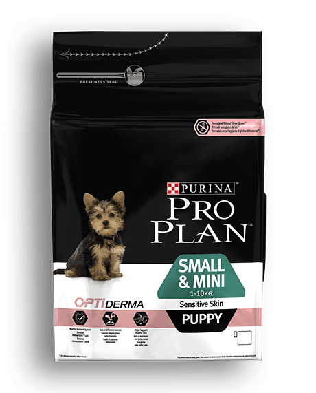 PRO PLAN SMALL & MINI PUPPY Sensitive Skin 3kg