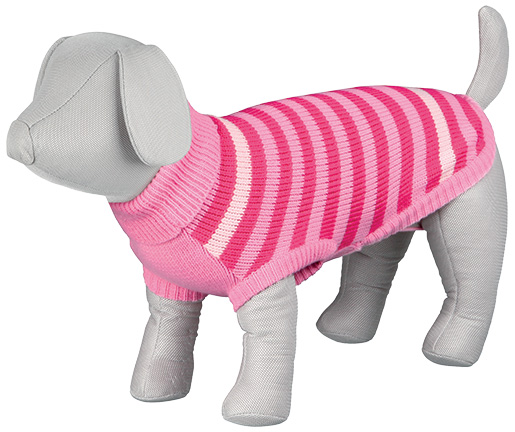 Svetr pro psy Trixie Barrie růžová S 36cm