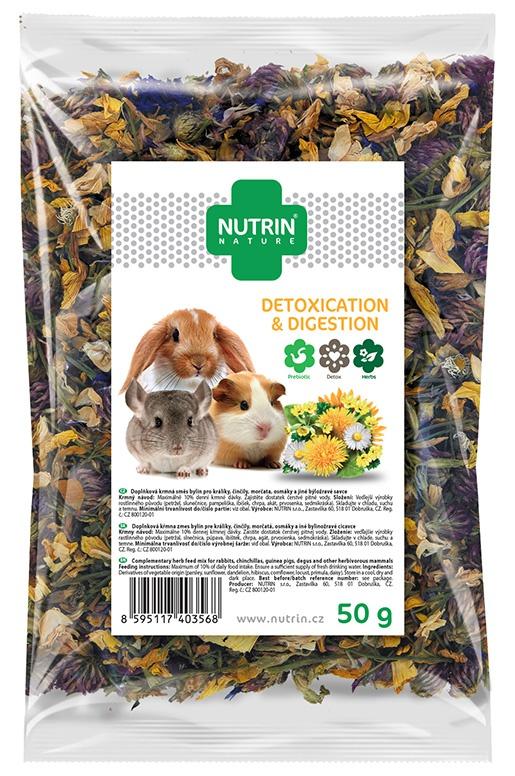 Darwin´s Pamlsek NUTRIN Nature Detoxication & Digestion pro hlodavce 50g
