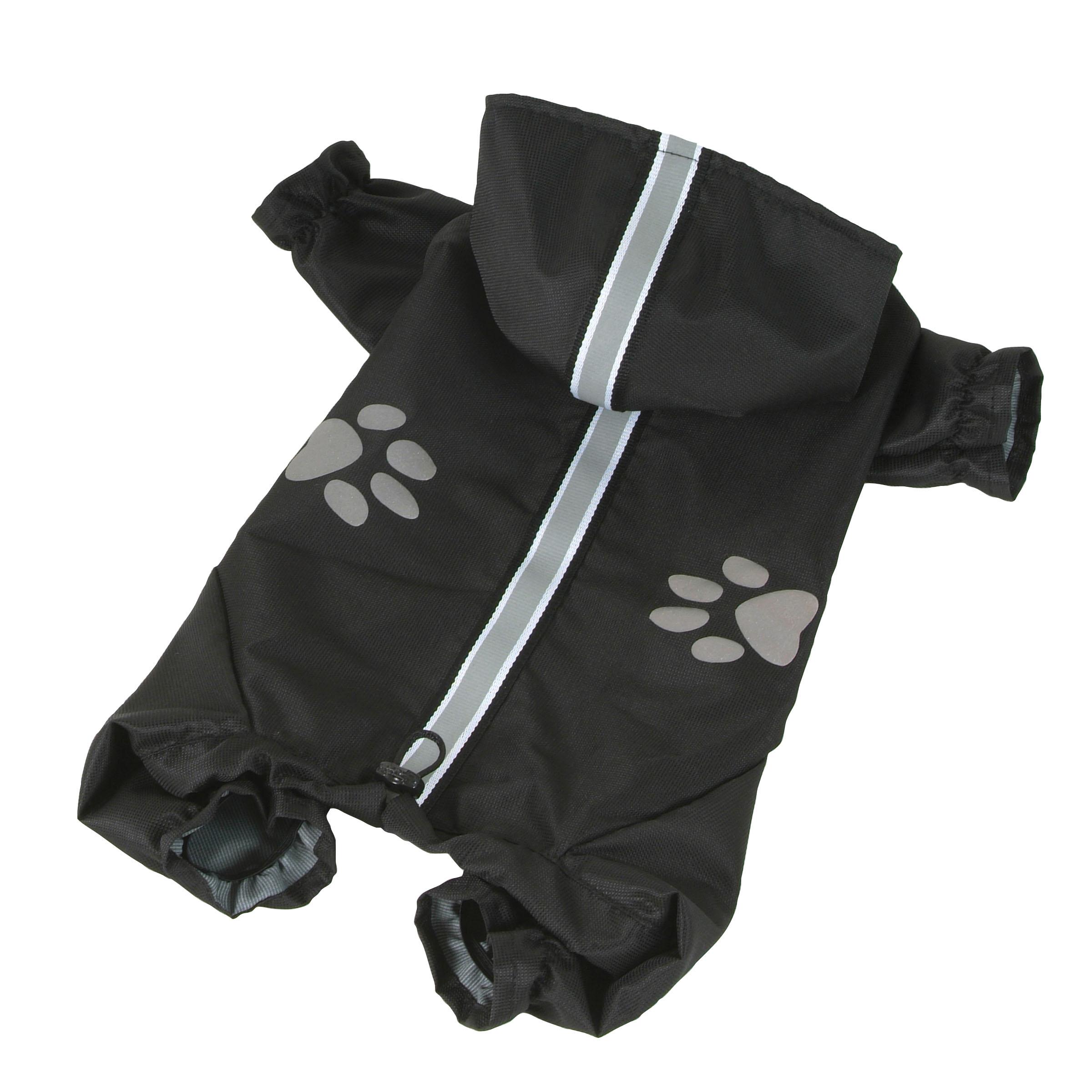 I love pets Kombinéza lehká šusťáková reflex - černá M