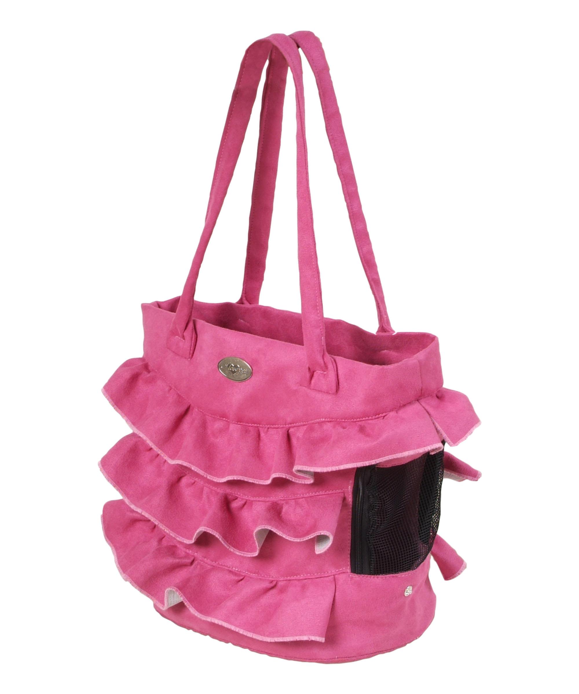 I love pets Taška London růžová 30 cm