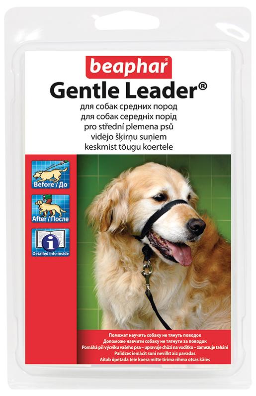 Ohlávka Beaphar Gentle Leader pro střední psy BEAPHAR ohlávka Gentle Leader for medium dogs
