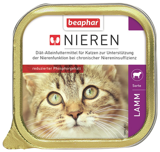 Beaphar Kidney diet Cat lamb 100g