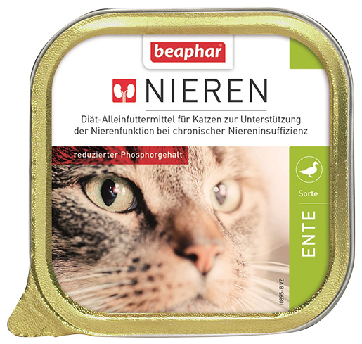 Beaphar Kidney diet Cat duck 100g