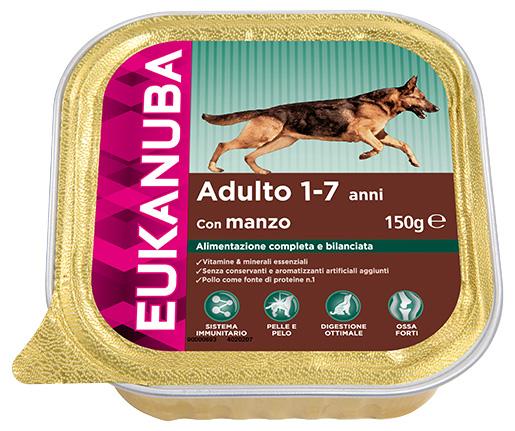 Vanička Eukanuba Adult Beef 150g