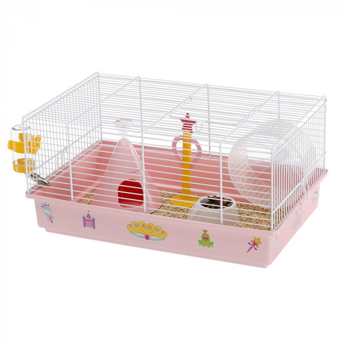Ferplast CAGE CRICETI 9 PRINCESS WHITE 46x29,5x23cm