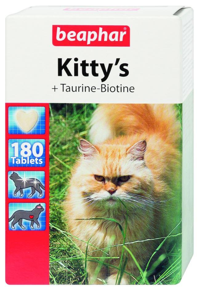 Beaphar Kittys Tau/Bio 180tb