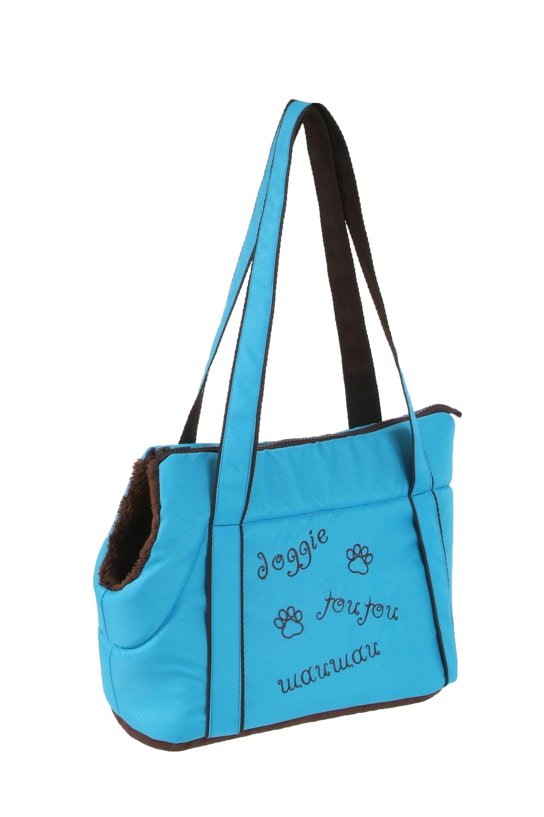 I love pets Taška Doggie modrá 30cm