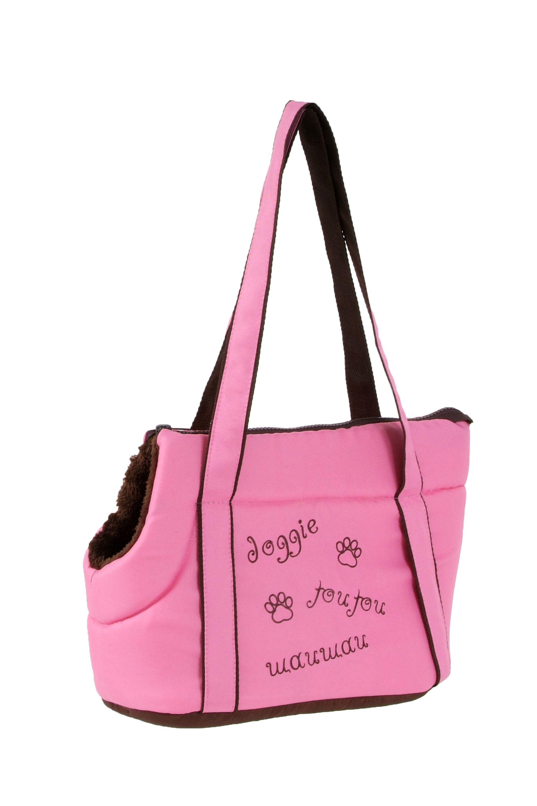 I love pets Taška Doggie růžová 30cm