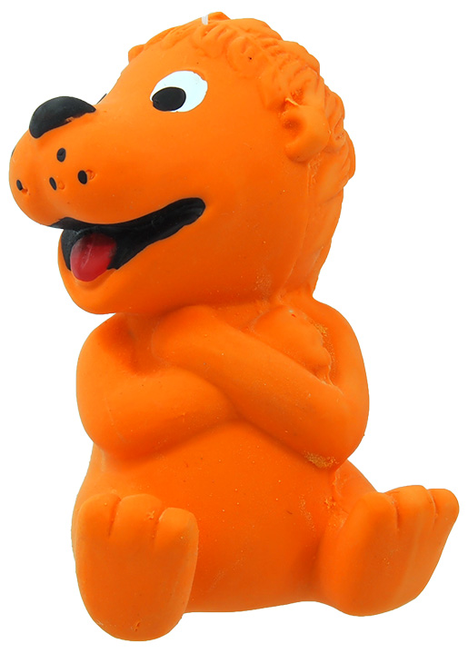 Hračka Dog Fantasy Latex Zvířata se zvukem mix 7-9cm