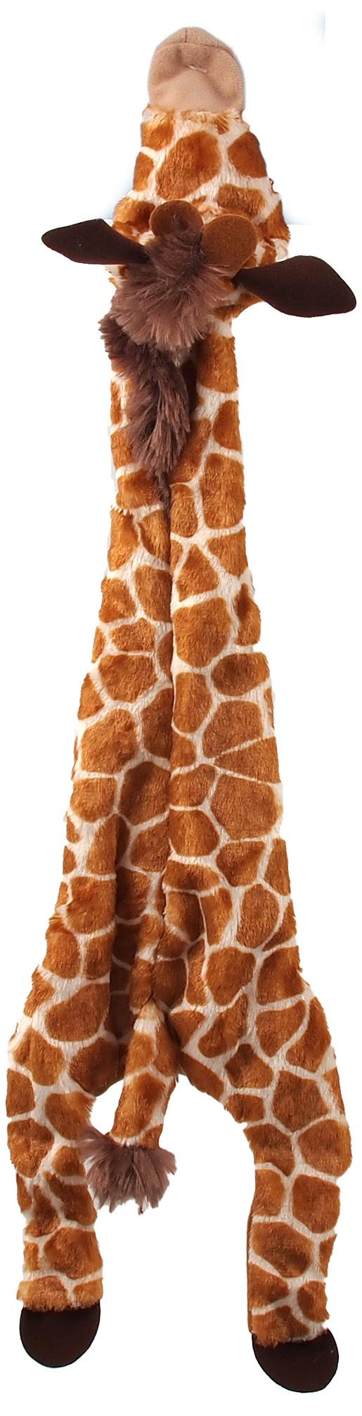 Hračka Dog Fantasy Skinneeez žirafa 50cm
