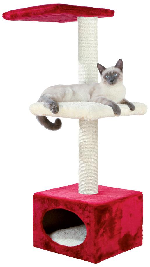 Odpočívadlo pro kočky Trixie Elena 109cm červeno-béžová