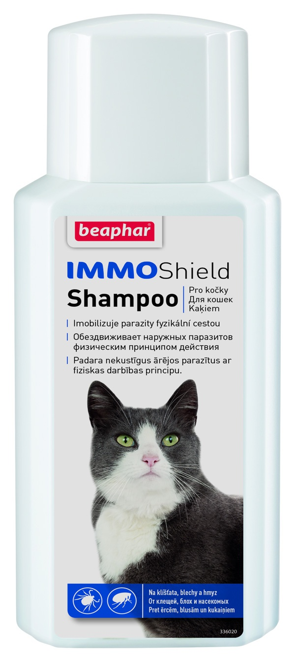 Beaphar Šampon Immo Shield 200ml Beaphar Šampon Cat Immo Shield 200ml
