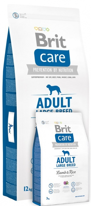 Brit Care Adult Large Breed Lamb & Rice 12+3 kg