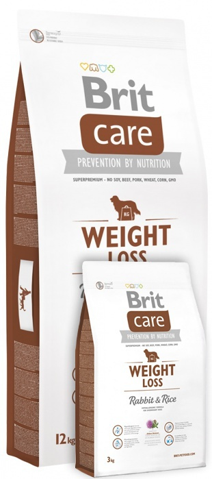 Brit Care Weight Loss Rabbit & Rice 12+3 kg