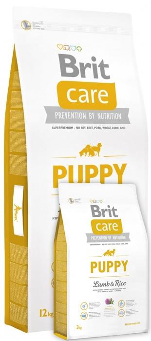 Brit Care Puppy Lamb & Rice 12+3 kg